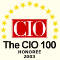 The CIO 100 HONOREE 2003